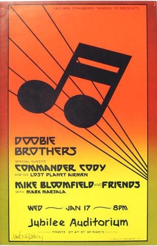 Doobie Brothers Poster