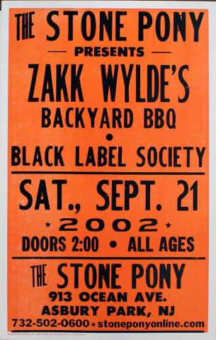 Zakk Wylde Poster