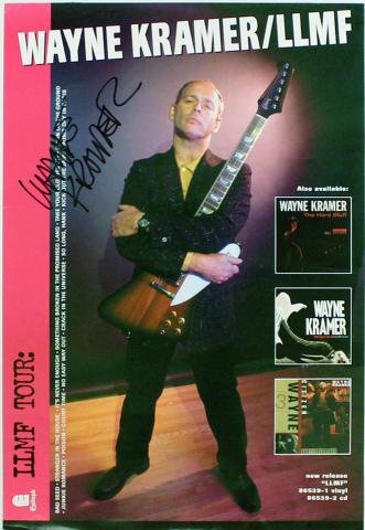 Wayne Kramer Poster