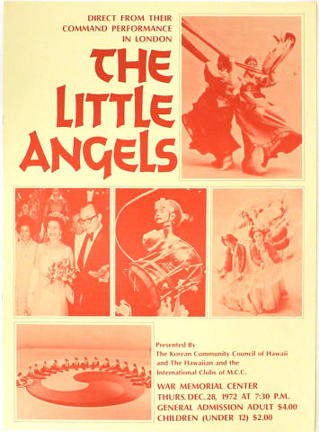 The Little Angels Poster