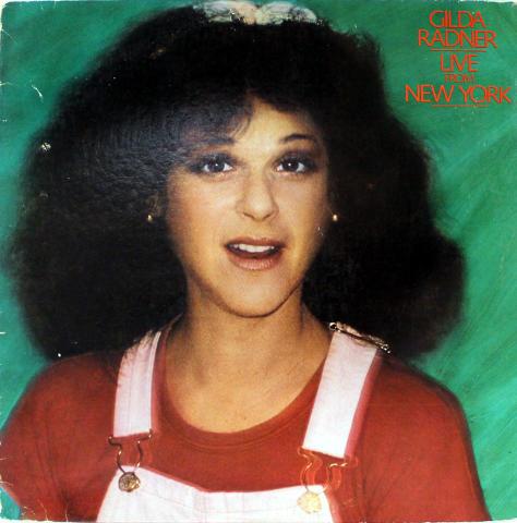 """Gilda Radner Vinyl 12"""""""