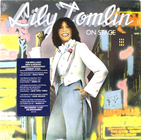 "Lily Tomlin Vinyl 12"""