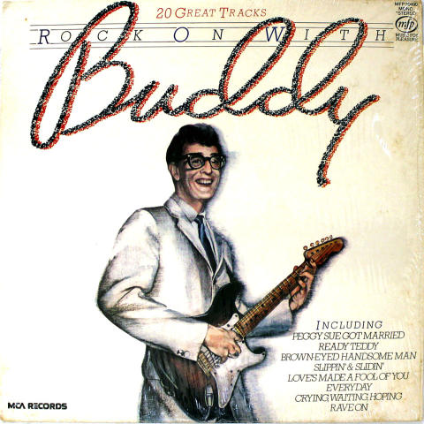 Buddy Holly Vinyl 12""