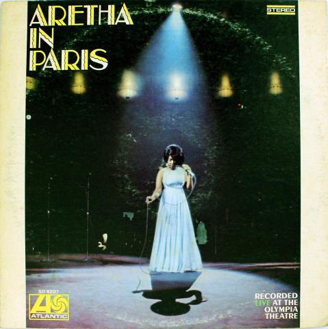 "Aretha Franklin Vinyl 12"""