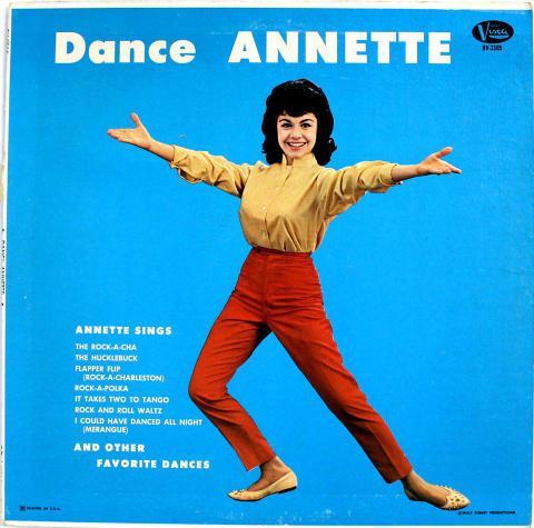 "Annette Funicello Vinyl 12"""