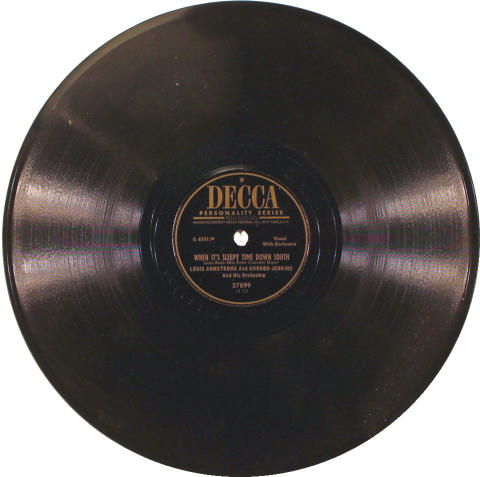 """Louis Armstrong Vinyl 10"""" (Used)"""