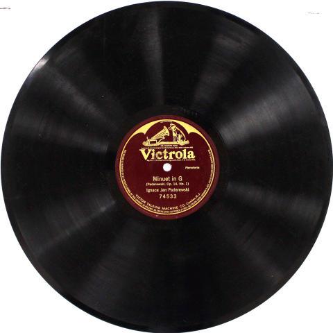"Ignace Jan Paderewski Vinyl 12"""