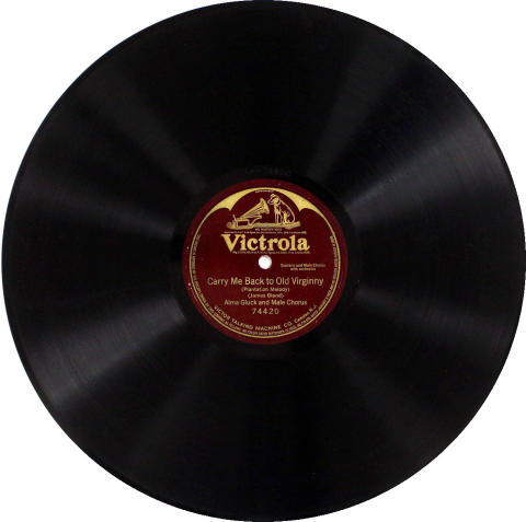 "Alma Gluck Vinyl 12"""