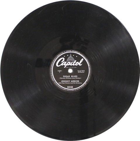 """Johnny Mercer Vinyl 10"""" (Used)"""