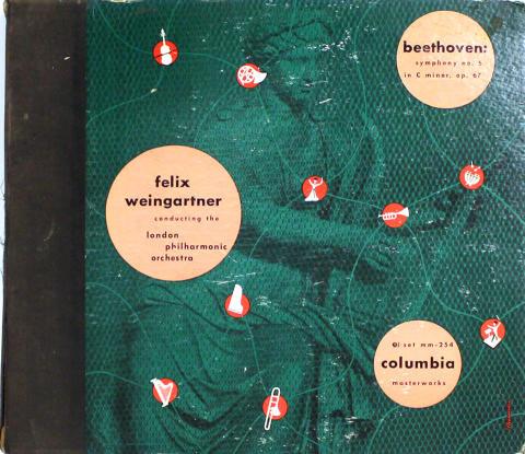 "Felix Weingartner Vinyl 12"""