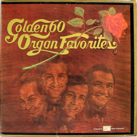 "Golden 60 Organ Favorites Vinyl 12"""
