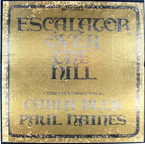 "Escalator Over The Hill Vinyl 12"""