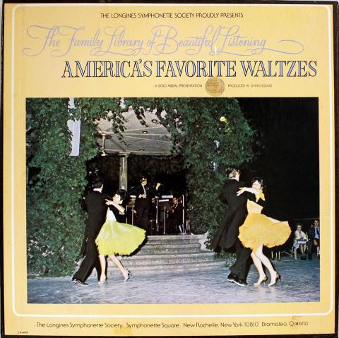 "America's Favorite Waltzes Vol. 12 Vinyl 12"""