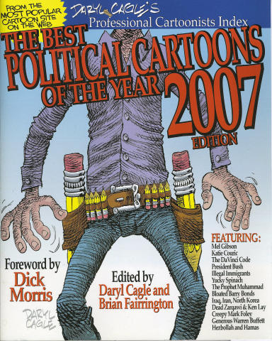 The Best Political Cartoon Of The Year 2007 Edition