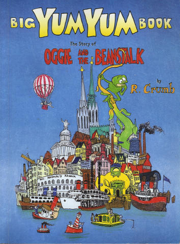 The Big Yum Yum Book: The Story Of Oggie And The Beanstalk