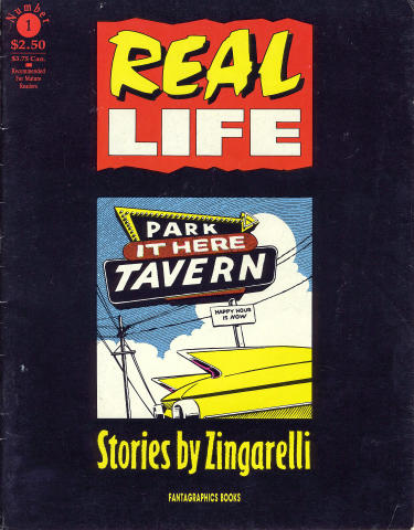 Fantagraphics: Real Life: Stories by Zingarelli #1