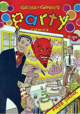 Siegel + Simon's Party Comics