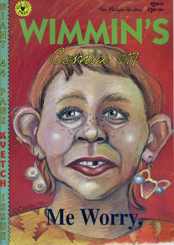Rip Off Press: Wimmen's Comix No. 17
