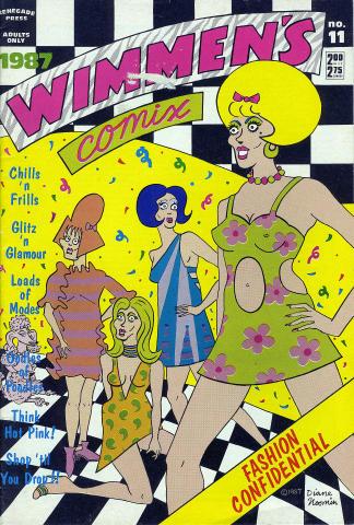 Renegade Press: Wimmen's Comix No. 11