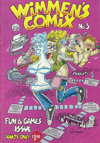 Last Gasp: Wimmen's Comix No. 3