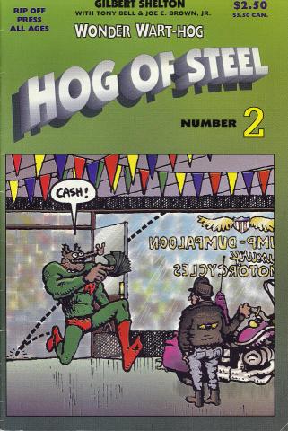 Rip Off Press: Wonder Wart-Hog - Hog Of Steel No. 2