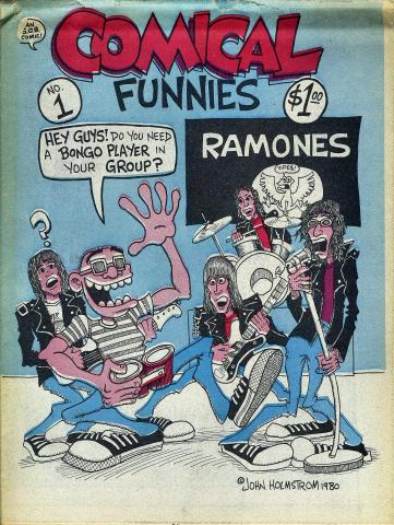 Comical Funnies Vol. 1 No. 1 Comic Book