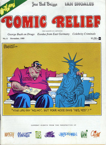 Comic Relief Vol. 1 No. 6