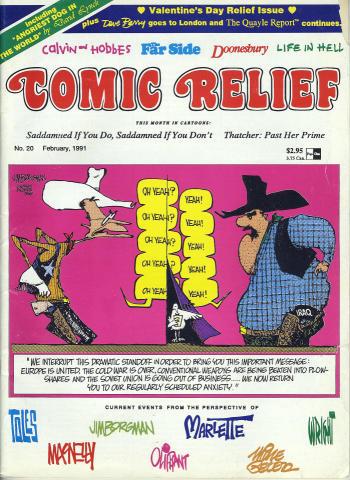 Comic Relief Vol. 3 No. 20