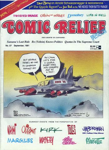 Comic Relief Vol. 3 No. 27