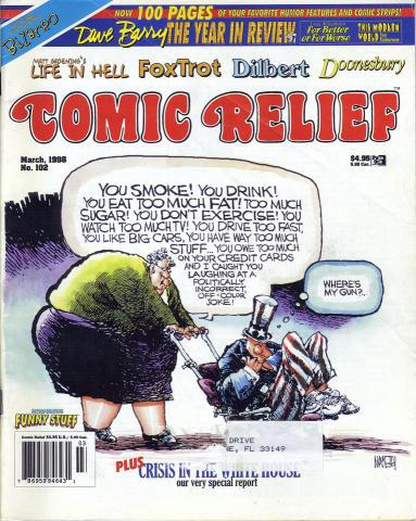 Comic Relief Vol. 10 No. 102