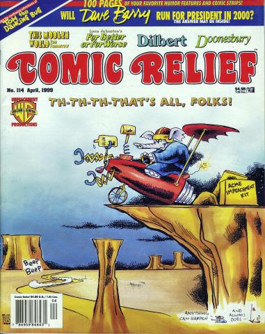 Comic Relief Vol. 11 No. 114