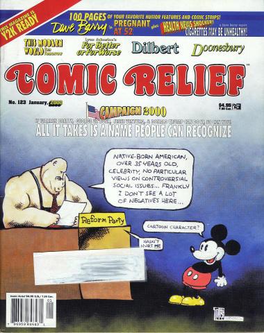 Comic Relief Vol. 12 No. 123