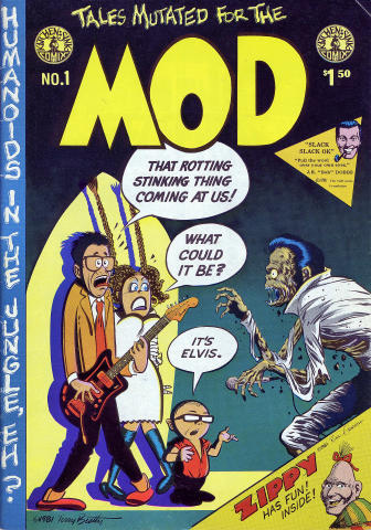 Kitchen Sink: Tales Mutated for the MOD No. 1
