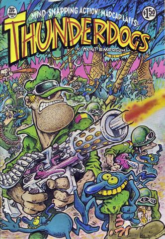 Rip Off Press: Thunderdogs