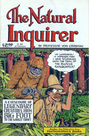 Fantagraphics: The Natural Inquirer #1