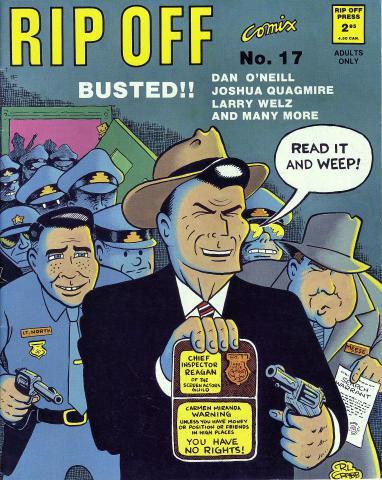 Rip Off Press: Rip Off Comix #17