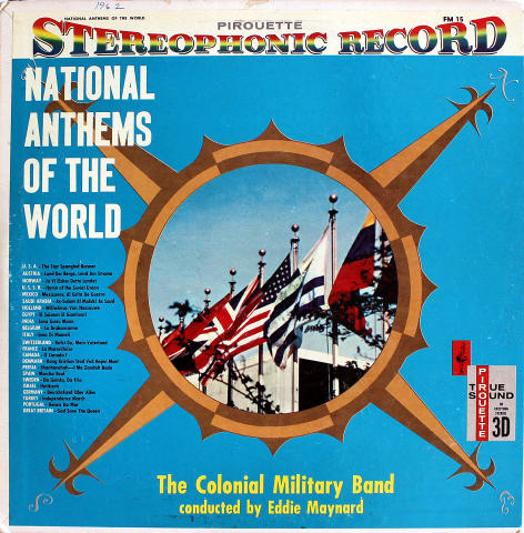 """The Colonial Military Band Vinyl 12"""""""