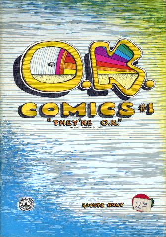 Kitchen Sink: O.K. Comics #1