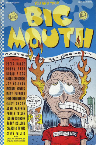 Starhead/Fantagraphics: You and Your Big Mouth No. 3