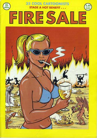 Rip Off Press: Fire Sale