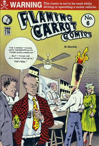 Renegade Press: Flaming Carrot Comics No. 6