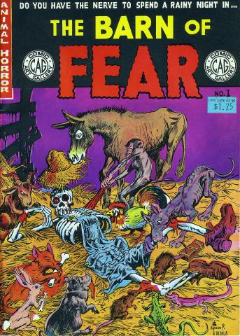 Comic Art: The Barn Of Fear