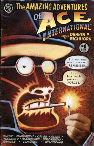 Starhead Comix: The Amazing Adventures of Ace International #1