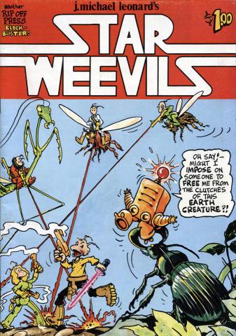 Rip Off Press: Star Weevils