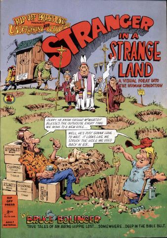 Rip Off Press: Stranger in a Strange Land #1