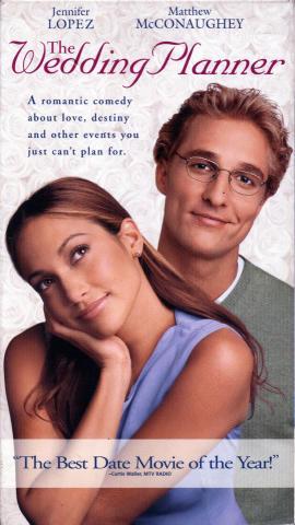 The Wedding Planner VHS