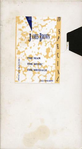 The Man, The Music, The Message VHS