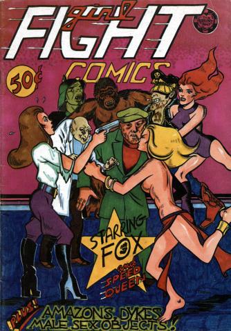 The Print Mint: Girl Fight Comics #1