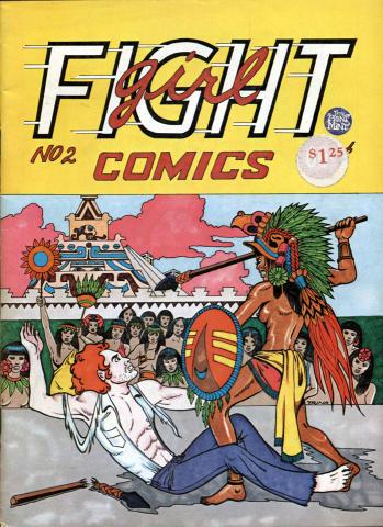 The Print Mint: Girl Fight Comics #2