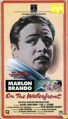 On the Waterfront VHS